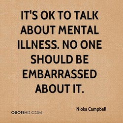 IT'S 0K TO TALK 