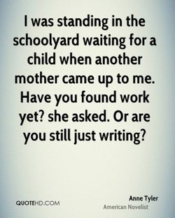 I was standing in the 