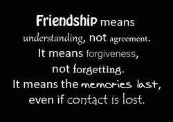 Friendship means 