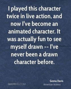 I played this character 