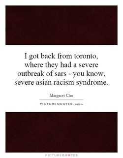 I got back from toronto, 