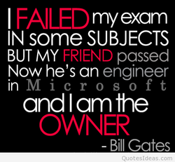 I FAILED 