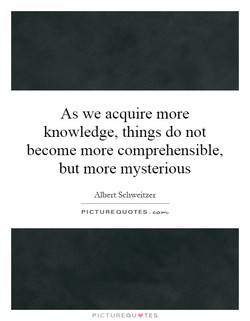As we acquire more 