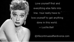 Love yourself first and 