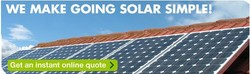 WE MAKE GOING SOLAR SIMPLE!