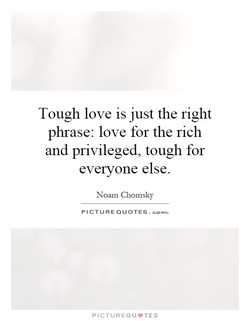 Tough love is just the right 