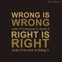 WRONG IS 