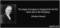 The slogan of progress is changing from the full 