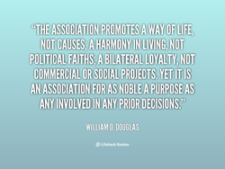 NOT CAUSES;A HARMONY IN LIVING (NOT. 