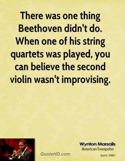 There was one thing 