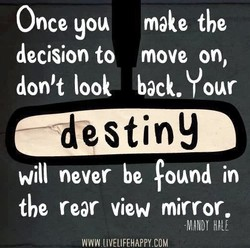 Once you make tbe 