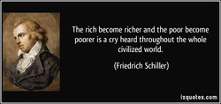 The rich become richer and the poor become