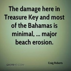 The damage here in 