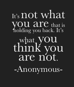 It's not what 