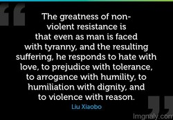 The greatness of non- 