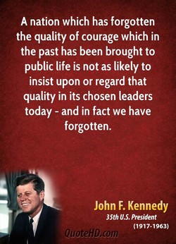 A nation which has forgotten 