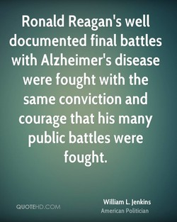 Ronald Reagan's well