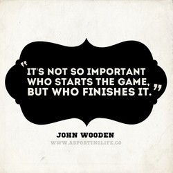 IT'S NOT SO IMPORTANT 
