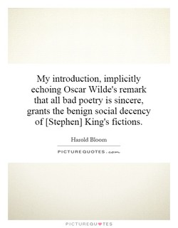 My introduction, implicitly 