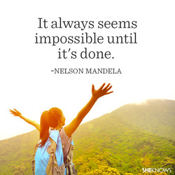 It always seems 