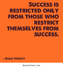 SUCCESS IS 