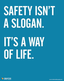SAFETY ISN'T 