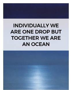 INDIVIDUALLY WE 