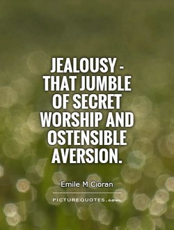 JEALOUSY - 