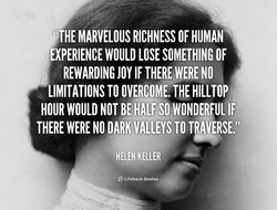 MARVELOUS RICHNESS OF HUMAN 