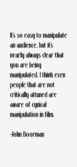 Its so easy to manipulate 