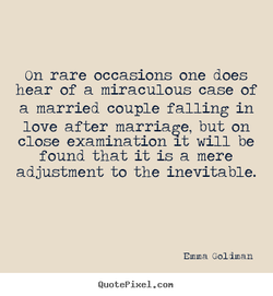 on rare occasions one does 