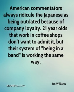 American commentators 