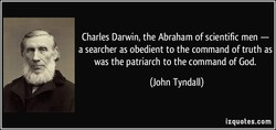 Charles Darwin, the Abraham of scientific men — 