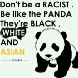 on't be a RACIST 