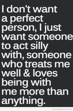 I don't want 