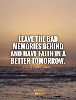 LEAVE THE BAD