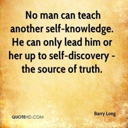 No man can teach 