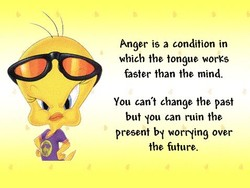 Anger is a condition in 