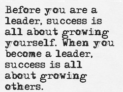 Before you are a 