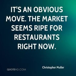 IT'S AN OBVIOUS 