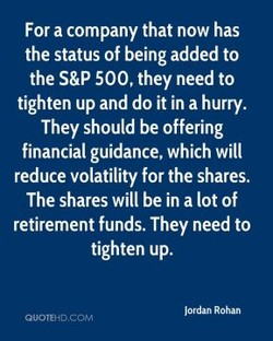 For a company that now has 