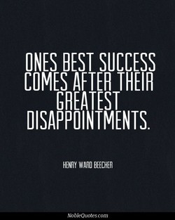 ONES BEST SUCCESS 
