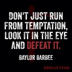 DON'T JUST RUN 