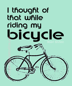 I thought of 