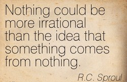 Nothing could be 