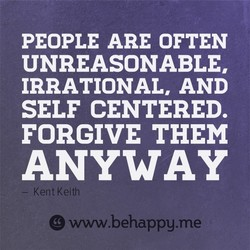 PEOPLE ARE OFTEN 