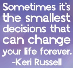 Sometimes it's