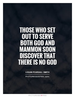 THOSE WHO SET 