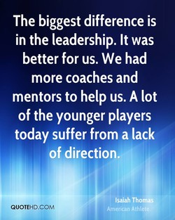The biggest difference is 