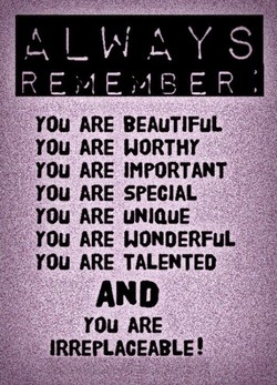 YOU ARE BEAuTlFuL: 